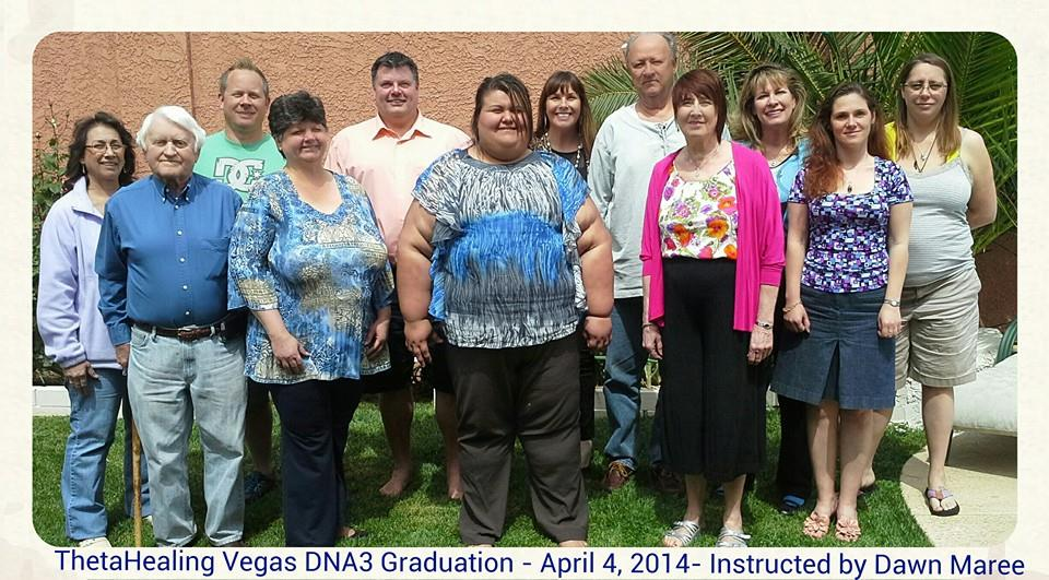 ThetaHealing DNA3 Class instructed by Dawn Maree - April 4, 2014 with LynMarie, Jeff Renel, Bernie Scott, Mary Anne Wassenberg, David Simpson, Maria Chavez, Stephen Ellison, Kay Linda Walker, Svetlana Parilova, Marie Wallace and Brandy Christensen