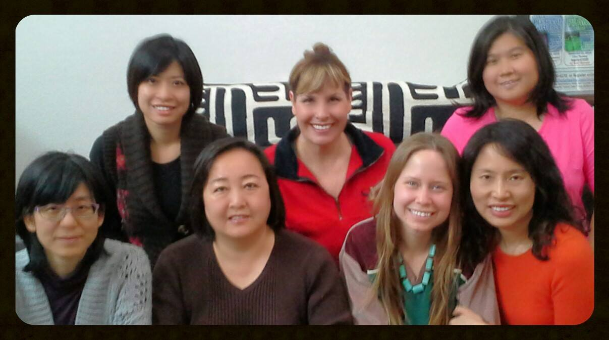 ThetaHealing Intuitive Anatomy Class instructed by Dawn Maree in Irvine, California. Hosted and attended by Faye Liu