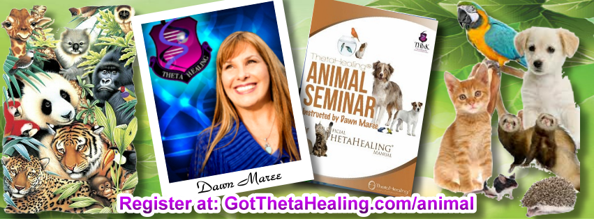 Enroll today in the ThetaHealing Animal Class created by Vianna Stibal and instructed by Dawn Maree, Certificate of Science, Master Instructor in the ThetaHealing modality. Dawn offers combo class incentives, interest free payment plans, scholarships and free gift with registration. Dawn also is available to travel to your area to teach your group this class.