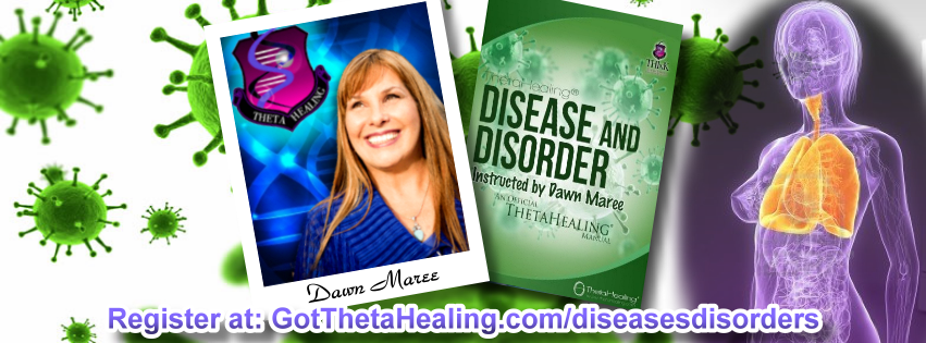 Enroll today in the ThetaHealing Diseases and Disorders Class created by Vianna Stibal and instructed by Dawn Maree, Certificate of Science, Master Instructor in the ThetaHealing modality. Dawn offers combo class incentives, interest free payment plans, scholarships and free gift with registration. Dawn also is available to travel to your area to teach your group this class.