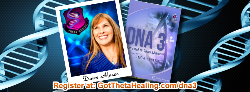Enroll today in the ThetaHealing DNA3 Class created by Vianna Stibal and instructed by Dawn Maree, Certificate of Science, Master Instructor in the ThetaHealing modality. Dawn offers combo class incentives, interest free payment plans, scholarships and free gift with registration. Dawn also is available to travel to your area to teach your group this class.