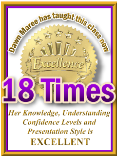 Dawn Maree has taught ThetaHealing Advanced now 18 times. ThetaHealing Certificate of Science, ThetaHealing Master Instructor
