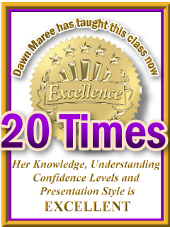 Dawn Maree has taught ThetaHealing Basic now 20 times. ThetaHealing Certificate of Science, ThetaHealing Master Instructor